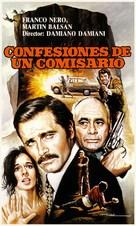 Confessione di un commissario di polizia al procuratore della repubblica - Spanish Movie Poster (xs thumbnail)