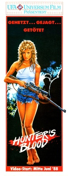 Hunter's Blood - German Video release movie poster (xs thumbnail)