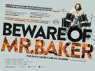 Beware of Mr. Baker - British Movie Poster (xs thumbnail)