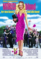 Legally Blonde - German Movie Poster (xs thumbnail)