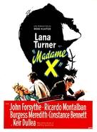 Madame X - French Movie Poster (xs thumbnail)