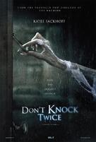 Don't Knock Twice - British Movie Poster (xs thumbnail)