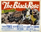 The Black Rose - Movie Poster (xs thumbnail)