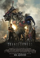 Transformers: Age of Extinction - Portuguese Movie Poster (xs thumbnail)