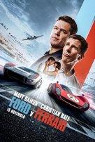 Ford v. Ferrari - Indonesian Movie Poster (xs thumbnail)