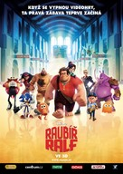 Wreck-It Ralph - Czech Movie Poster (xs thumbnail)
