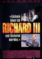 Richard III - German Movie Poster (xs thumbnail)