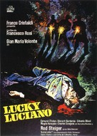 Lucky Luciano - Spanish Movie Poster (xs thumbnail)