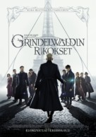 Fantastic Beasts: The Crimes of Grindelwald - Finnish Movie Poster (xs thumbnail)