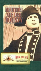Mutiny on the Bounty - German VHS movie cover (xs thumbnail)