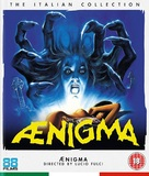 Aenigma - British Blu-Ray movie cover (xs thumbnail)