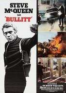 Bullitt - German Re-release movie poster (xs thumbnail)