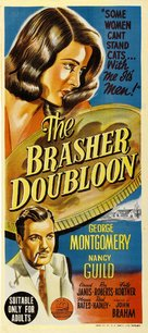 The Brasher Doubloon - Australian Movie Poster (xs thumbnail)