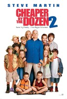 Cheaper by the Dozen 2 - DVD movie cover (xs thumbnail)