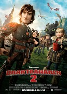 How to Train Your Dragon 2 - Swedish Movie Poster (xs thumbnail)