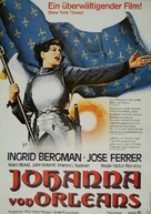 Joan of Arc - German Movie Poster (xs thumbnail)
