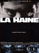 La haine - French Movie Poster (xs thumbnail)