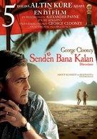 The Descendants - Turkish Movie Poster (xs thumbnail)