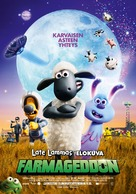 A Shaun the Sheep Movie: Farmageddon - Finnish Movie Poster (xs thumbnail)