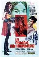 Die sieben Männer der Sumuru - Spanish Movie Poster (xs thumbnail)