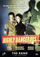 Highly Dangerous - DVD cover (xs thumbnail)