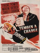 Witness for the Prosecution - French Movie Poster (xs thumbnail)