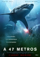 47 Meters Down - Spanish Movie Poster (xs thumbnail)