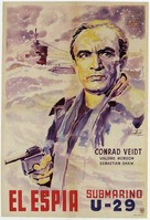 The Spy in Black - Argentinian Movie Poster (xs thumbnail)