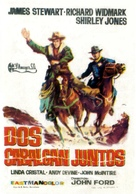 Two Rode Together - Spanish Movie Poster (xs thumbnail)
