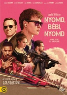 Baby Driver - Hungarian DVD movie cover (xs thumbnail)