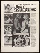 Sexy proibitissimo - Movie Poster (xs thumbnail)