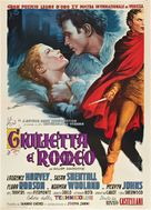 Romeo and Juliet - Italian Movie Poster (xs thumbnail)