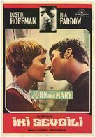 John and Mary - Polish Movie Poster (xs thumbnail)