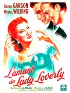 The Law and the Lady - French Movie Poster (xs thumbnail)