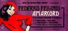 Amarcord - German Movie Poster (xs thumbnail)