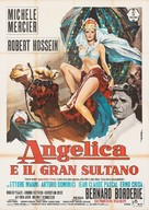 Angélique et le sultan - Italian Movie Poster (xs thumbnail)