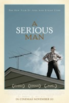 A Serious Man - British Movie Poster (xs thumbnail)