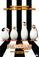 Penguins of Madagascar - South African Movie Poster (xs thumbnail)