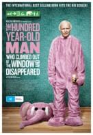 Hundraåringen som klev ut genom fönstret och försvann - Australian Movie Poster (xs thumbnail)