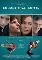 Louder Than Bombs - Belgian Movie Poster (xs thumbnail)