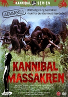 Cannibal Holocaust - Danish DVD cover (xs thumbnail)