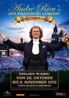 André Rieu's 2015 Maastricht Concert - Swiss Movie Poster (xs thumbnail)