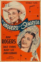 Cowboy and the Senorita - Argentinian Movie Poster (xs thumbnail)