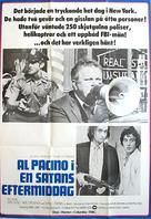 Dog Day Afternoon - Swedish Movie Poster (xs thumbnail)