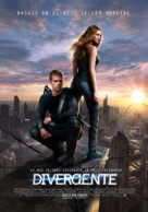 Divergent - Chilean Movie Poster (xs thumbnail)
