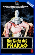 The Curse of the Mummy's Tomb - German VHS movie cover (xs thumbnail)
