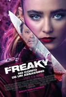 Freaky - Brazilian Movie Poster (xs thumbnail)