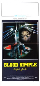 Blood Simple - Italian Movie Poster (xs thumbnail)