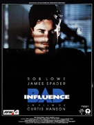 Bad Influence - French Movie Poster (xs thumbnail)