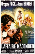 The Macomber Affair - French Movie Poster (xs thumbnail)
